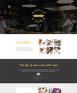 نمونه سایت رستوران